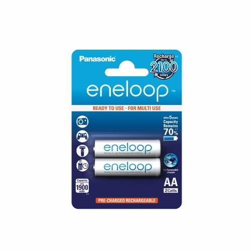 Panasonic Eneloop R6/AA 1900mAh, 2 ks, Blister
