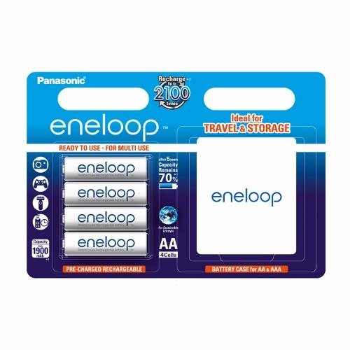 Panasonic Eneloop R6/AA 1900mAh, 4 ks, Blister + BOX
