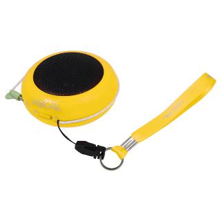 LOGILINK - Přenosný reproduktor k Mp3, žlutý