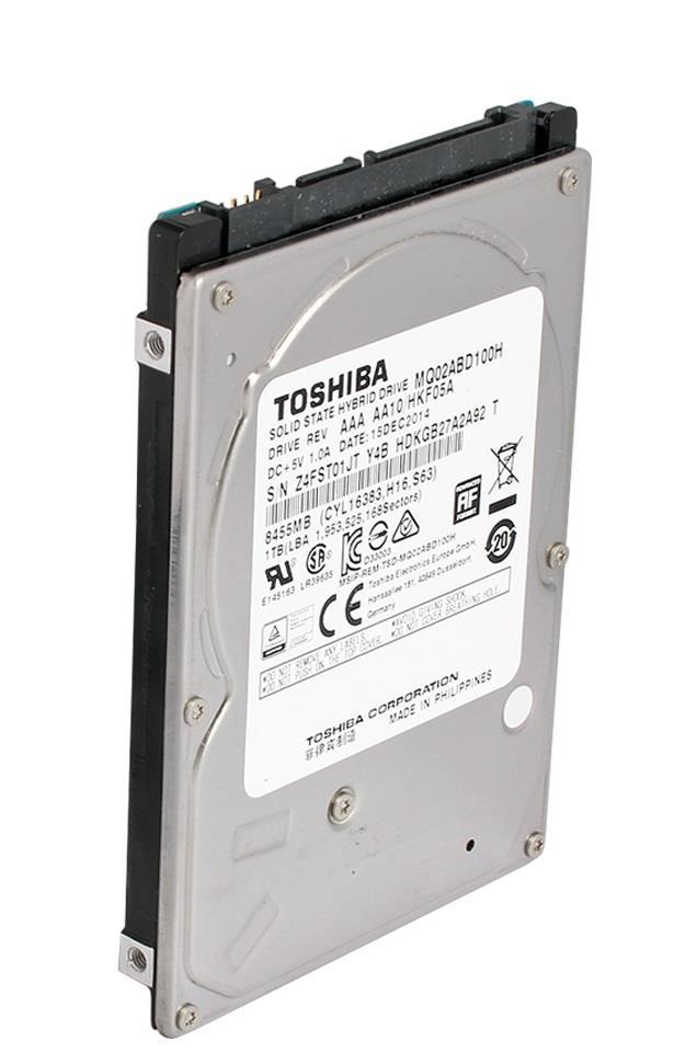 SSHD Toshiba 2.5'' 1TB SATA3 5400RPM 64MB cache / 8GB SSD