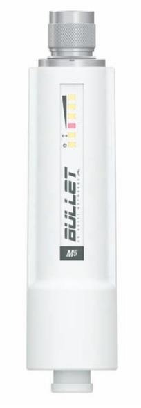 Ubiquiti Bullet M5-HP 5GHz Outdoor Radio, 802.11a/n, 25dBm, PoE, N-type Male
