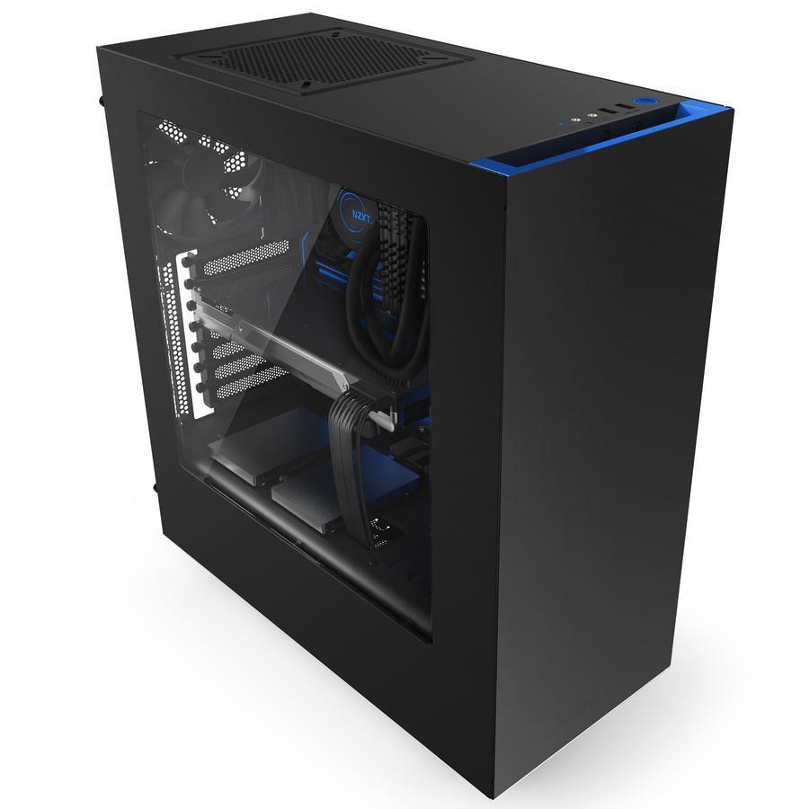 NZXT PC skříň Source 340 černo-modrá