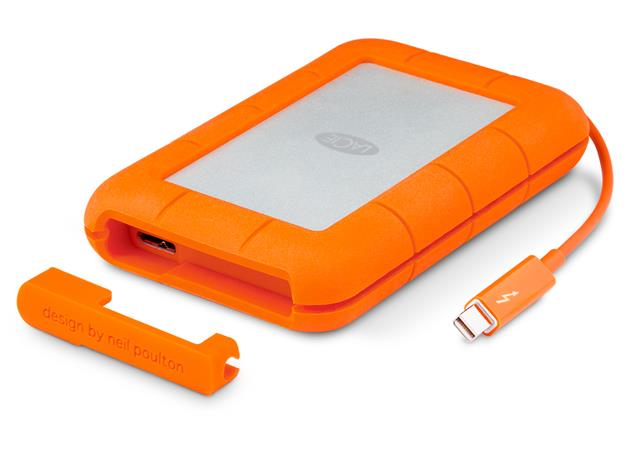 LaCie externí SSD Rugged Thunderbolt 250GB, 2.5'' USB 3.0