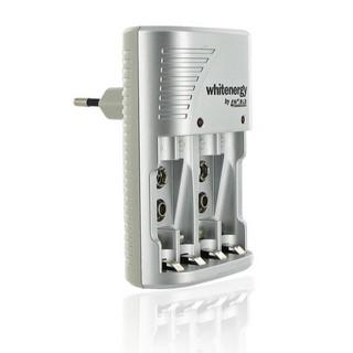 Whitenergy nabíječka pro 4 baterie AA/AAA a 2x 6F22 (9V) 400mA