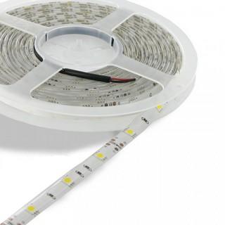 WE LED páska voděodolná 5m | 30ks/m | 5050 | 7.2W/m | 12V DC | teplá bílá