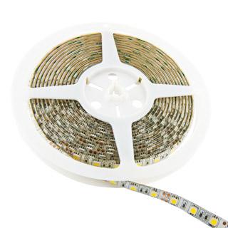 WE LED páska voděodolná 5m | 60ks/m | 5050 | 14.4W/m | 3000K | teplá bílá
