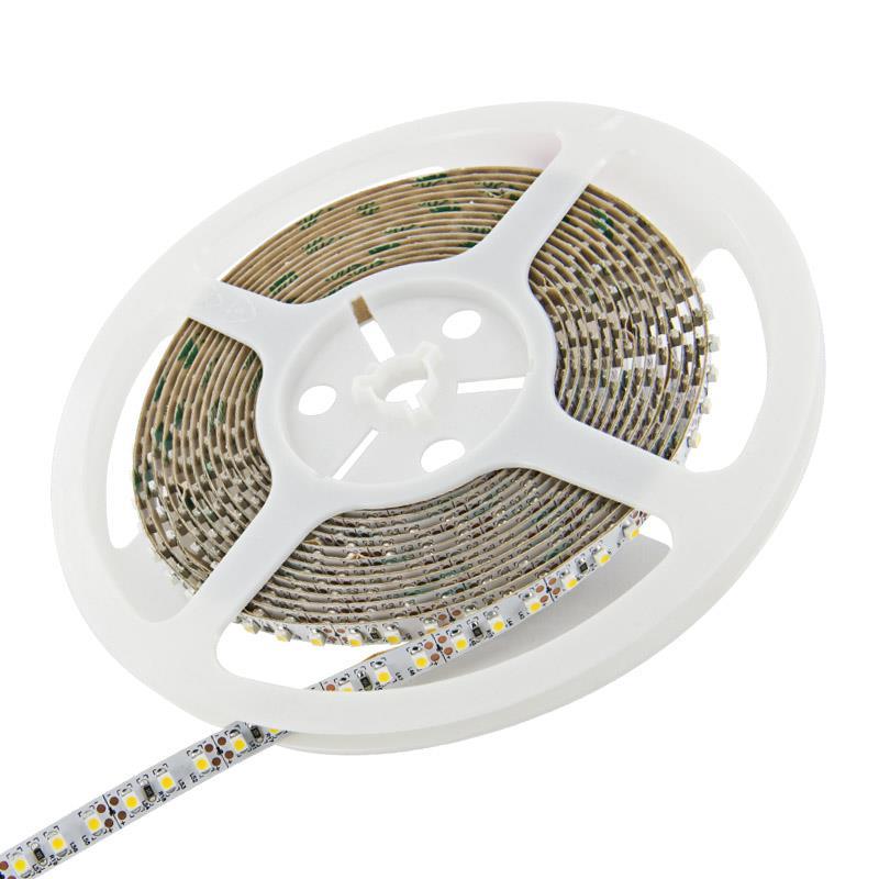 WE LED páska voděodolná 5m | 120ks/m | 3528 | 9.6W/m | teplá bílá|bez konektoru