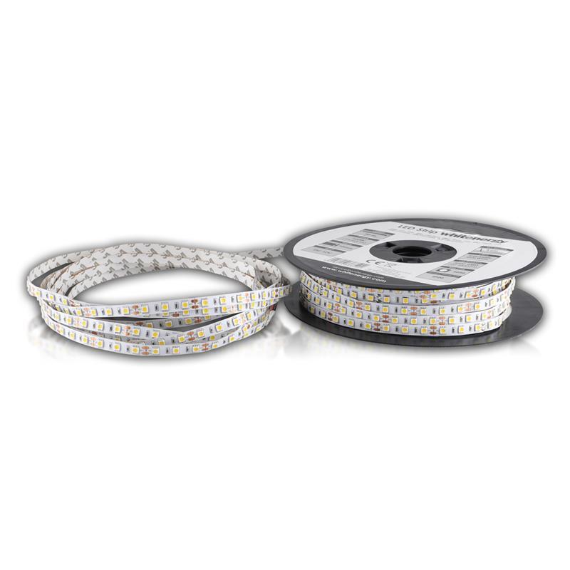 WE LED páska 50m   5050   14.4W/m   12V DC   teplá bílá