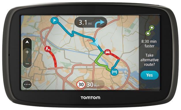 TomTom GO 5100 World Traffic Lifetime (152 zemí), 5'' (CZ/SK)