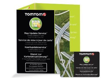 TomTom Aktualizace map na 1 rok (4 aktualizace)