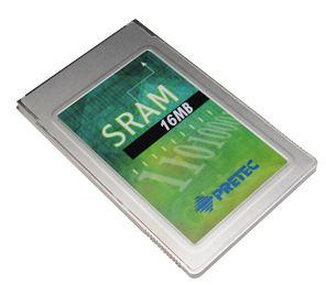 Pretec Ind. 1MB PCMCIA SRAM MB86187 -20/+85°C (with 8KB A/M)