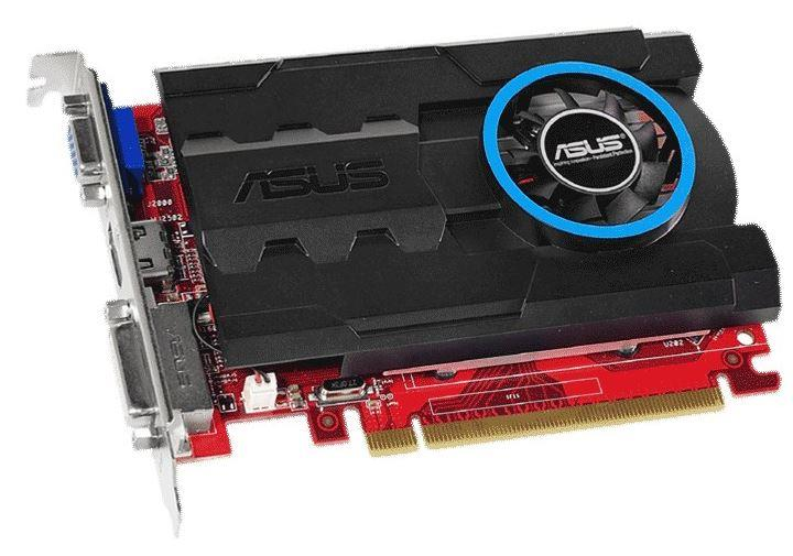 ASUS Radeon R7 240, 1GB DDR3 (64 Bit), HDMI, DVI