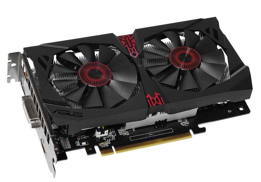 ASUS GeForce GTX 750 Ti OC, 4GB GDDR5 (128 Bit), HDMI, DVI, DP