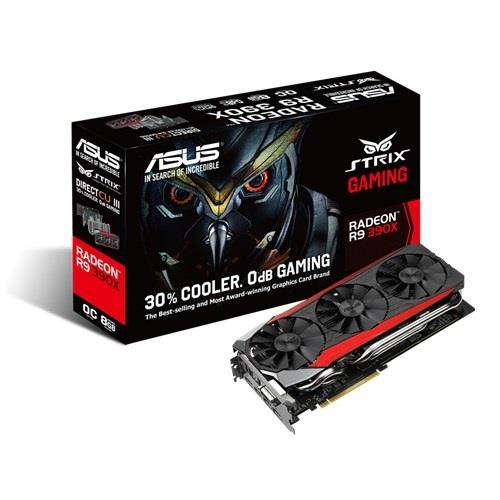 ASUS Radeon R9 390X OC, 8GB GDDR5 (512 Bit), HDMI, DVI, 3xDP