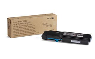 Toner Xerox Cyan Phaser 6600/WorkCentre 6605 |6000pgs|