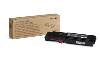 Toner Xerox Magenta Phaser 6600/WorkCentre 6605 |6000pgs|