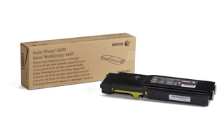 Toner Xerox Yellow Phaser 6600/WorkCentre 6605 |6000pgs|