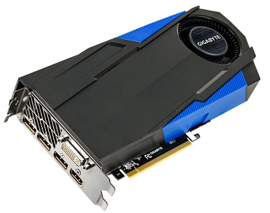 Gigabyte GeForce GTX 970 OC, 4GB GDDR5 (256 bit), HDMI, DVI, 3xDP