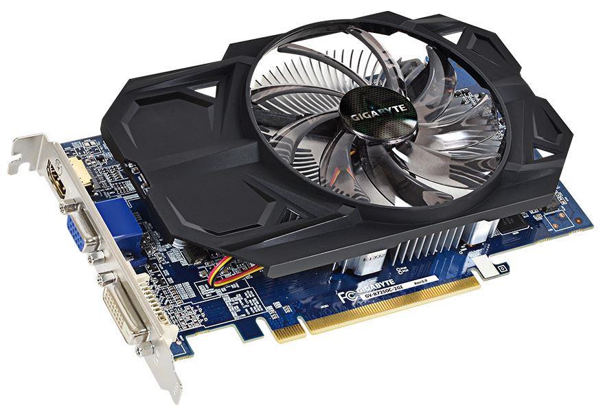 Gigabyte Radeon R7 250 rev. 5.0, 2GB DDR3 (128 Bit), HDMI, DVI