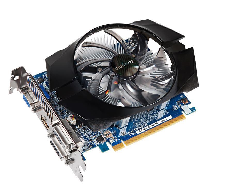 Gigabyte GeForce GT 740 OC, 1GB GDDR5 (128 Bit), HDMI, DVI, D-Sub