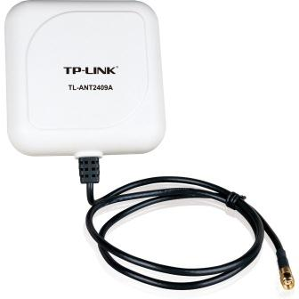 TP-Link TL-ANT2409A 2.4GHz 9dBi Outdoor Panel Antenna, 1m cable, RP-SMA