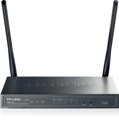 TP-Link TL-ER604W WiFi Gigabit VPN Router, 1xWAN, 4xLAN,30xIPSec,8x PPTP,8x L2TP