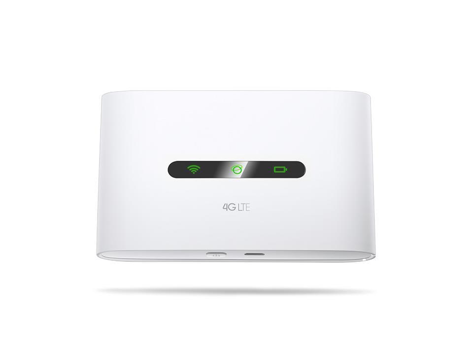 TP-Link M7300 4G LTE WiFi Modem Router, SIM slot, 2000mAh, 2,4GHz WiFi, 11client