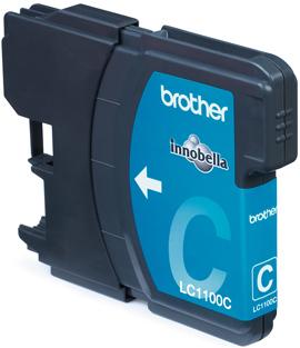 Inkoustová náplň Brother cyan LC1100C 325str.