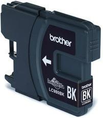Inkoustová náplň Brother LC980BK černá
