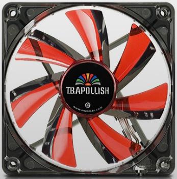 Cooler T.B.Apollish Red UCTA12N-R 12cm x 12cm x 2,5cm