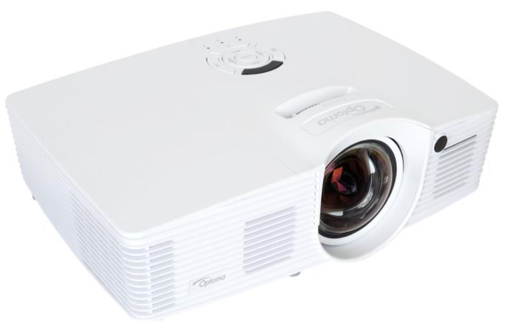 Projector Optoma GT1080 DLP, Short Throw; 1080p, 2800; 25000:1