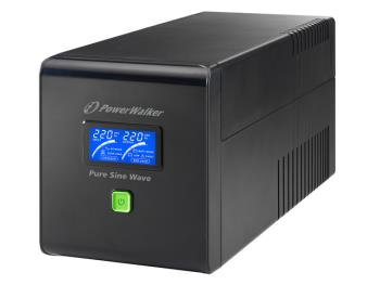 Power Walker UPS Line-Interactive 750VA 4x IEC C13, PURE SINE, RJ11/RJ45,USB,LCD