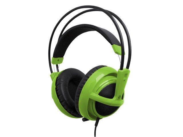 Sluchátka SteelSeries SIBERIA V2 (zelený)