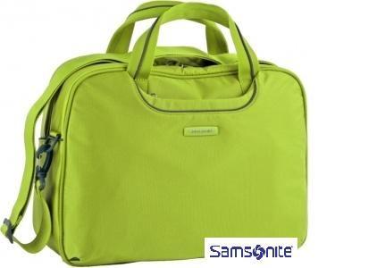Brašna SAMSONITE V9774010 16'' B-Lite Fresh počítač, 2 kapsy, limetkově zelená