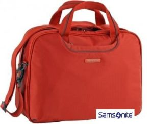 Brašna SAMSONITE V9786010 16'' B-Lite Fresh počítač, 2 kapsy, pomerančová