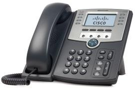 Cisco 1 Line IP Phone with Display, PoE and Gigabit PC Port