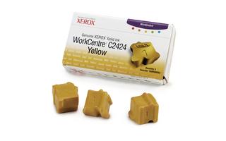 Kostky Xerox Solid Ink 3 yellow | 3400str | WC C2424