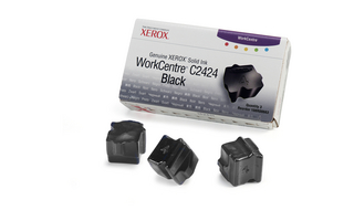 Kostky Xerox Solid Ink 3 black | 3400str | WC C2424