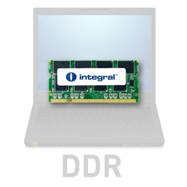 INTEGRAL 512MB 266MHz DDR CL2.5 R2 SODIMM 2.5V