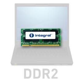 INTEGRAL 512MB 533MHz DDR2 CL4 R1 SODIMM 1.8V