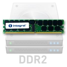 INTEGRAL 2GB (Kit 2x1GB) 533MHz DDR2 ECC CL4 R2 Registered DIMM 1.8V