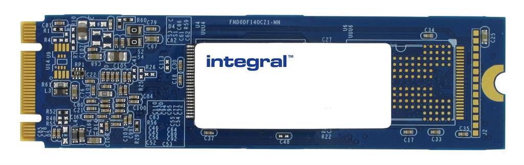 INTEGRAL SSD disk 64GB, SATA3, M.2 2280-D3-B-M, SMART TRIM (530MB/s; 430MB/s)