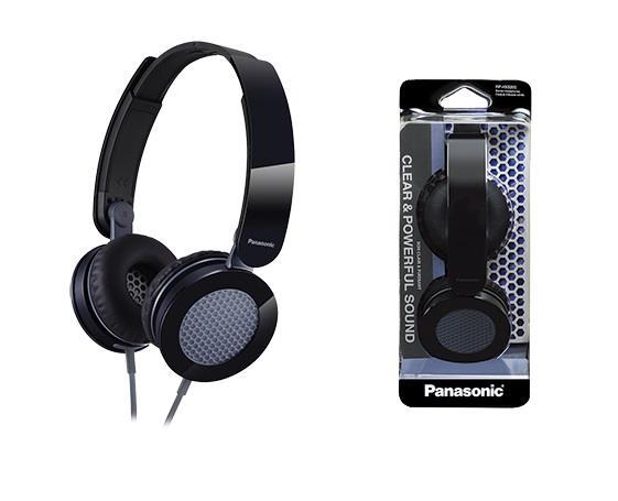 Sluchátka Panasonic RP-HXS200E-K, černá