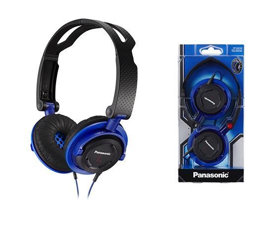 Sluchátka Panasonic RP-DJS150E-A, modrá