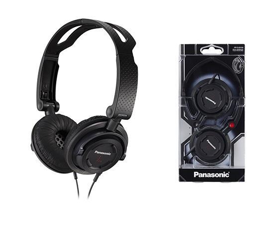 Sluchátka Panasonic RP-DJS150E-K, černá