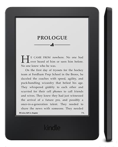 Amazon Kindle 7 Touch, 6'' E-ink displej, WiFi, SPONZOROVANÁ VERZE