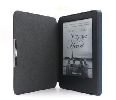 C-TECH PROTECT ''hardcover'' pouzdro pro Kindle 6 touch s WAKE/SLEEP, modré