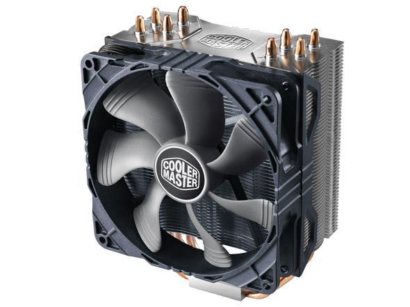 Cooler Master cooler Hyper 212X, Tower, 120mm 600-1700RPM, Full Socket Support