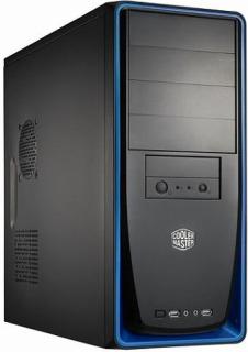 Cooler Master PC skříň Elite 310 modrá (bez zdroje)