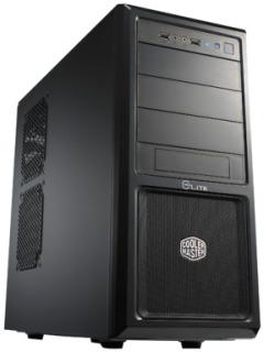 Cooler Master PC skříň Elite 370 černa (bez zdroje)